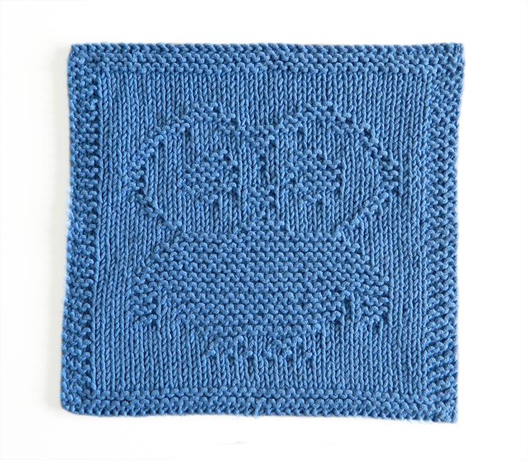 OWL dishcloth, OWL pattern, BEGINNER BLANKET MKAL 2020, OWL dishcloth pattern, OWL knitting pattern, OhLaLana dishcloth free pattern