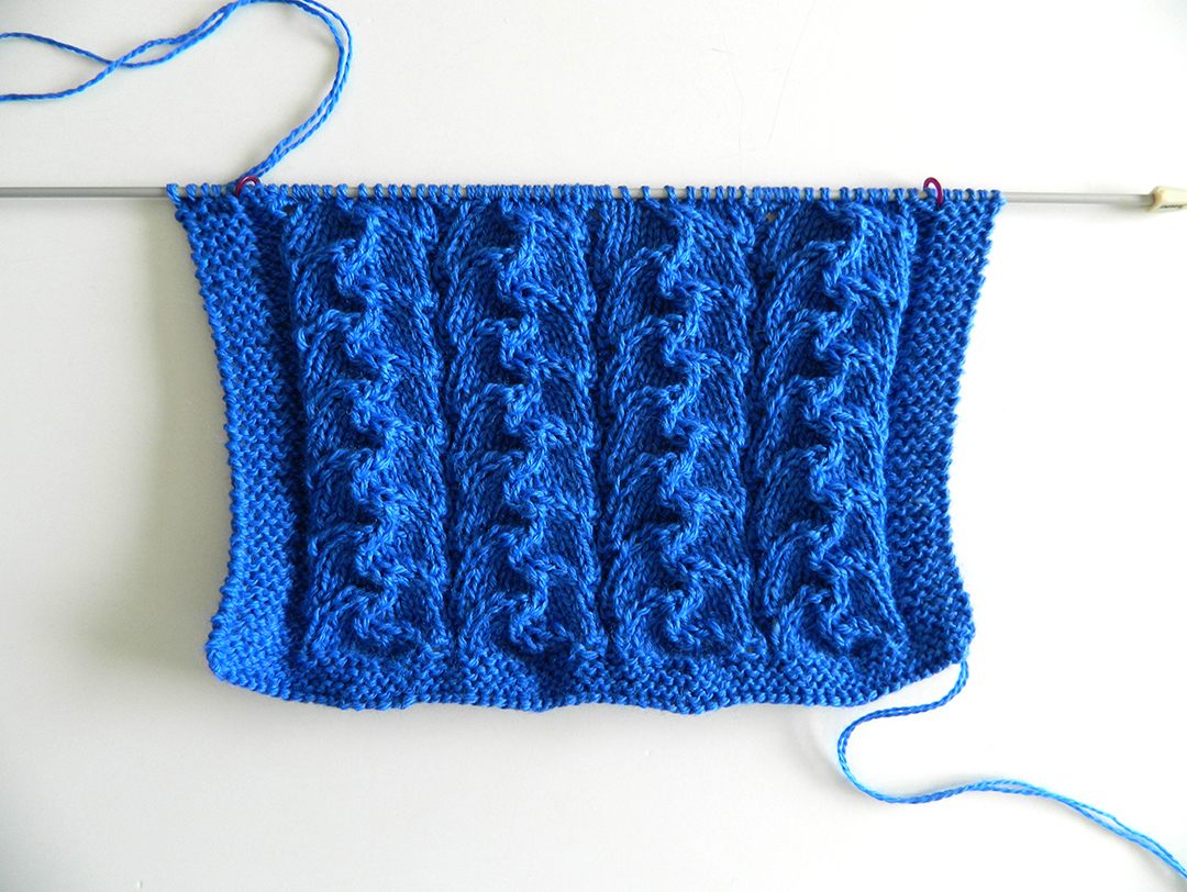 LACE N°9 pattern, lace dishcloth, lace knitting pattern, lace free pattern