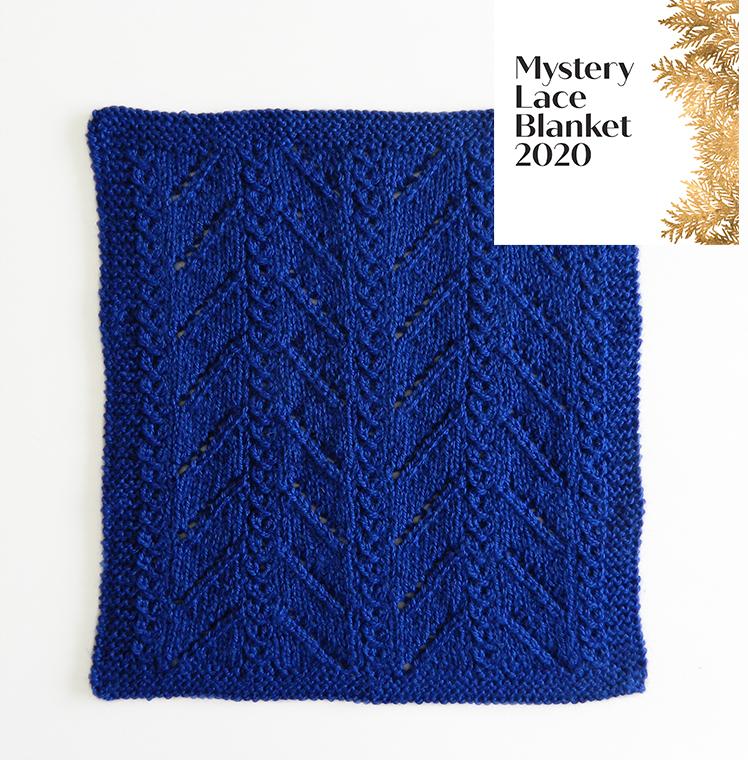 mystery lace blanket kal, ohlalana