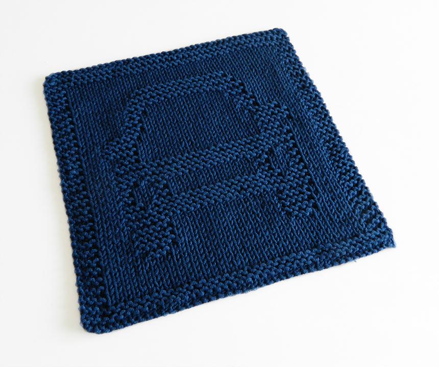 CAR dishcloth, CAR pattern, BEGINNER BLANKET MKAL 2020, AUTOMOBILE dishcloth pattern, CAR knitting pattern, OhLaLana dishcloth free pattern