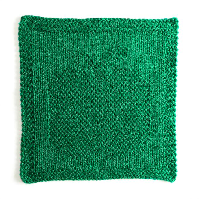 APPLE dishcloth pattern, APPLE pattern, BEGINNER BLANKET MKAL 2020, apple knitting pattern, fruits dishcloth, OhLaLana dishcloth free pattern