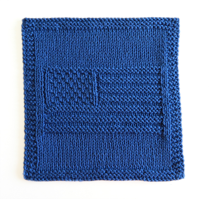 USA FLAG knitting pattern, USA FLAG dishcloth, USA beginner pattern, free dishcloth pattern, knitting USA pattern, OhLaLana