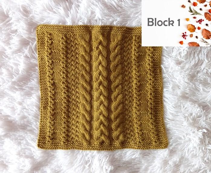 BLOCK 1 of Blanket MKAL 2021