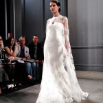 wedding dresses by monique lhullier spring 2014 collection with lace cape