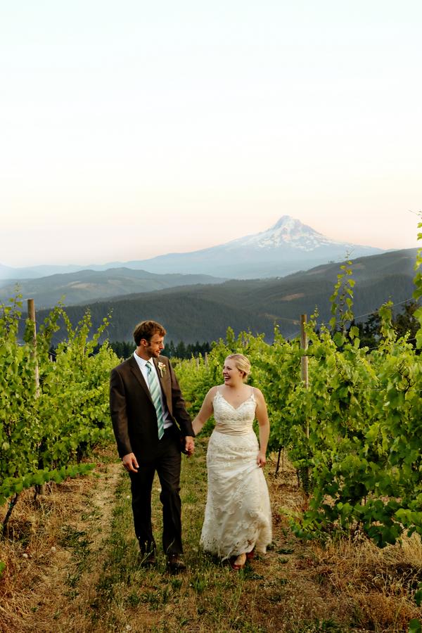 Rustic Vineyard Wedding: Ashley & Eric