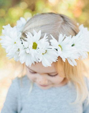 Daisy Chain Floral Crown   MV Florals & Megan Welker   Oh Lovely Day