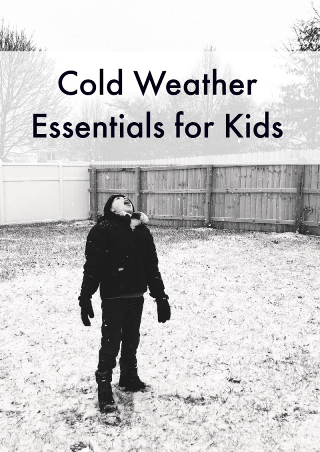 Cold Weather Essentials for Kids | oh lovelyday.com