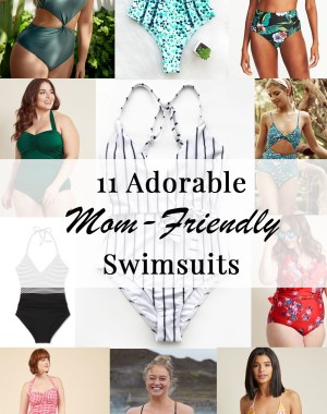 11 Adorable Mom-Friendly Swimsuits for Spring/Summer 2018
