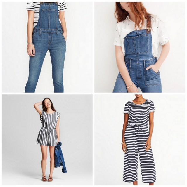 Jumpsuits and Overalls | Spring/Summer capsule wardrobe | ohlovelyday.com