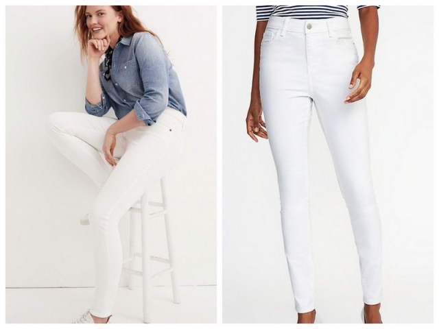 White Jeans | Spring/Summer capsule wardrobe | ohlovelyday.com