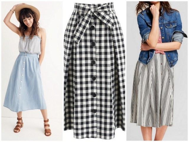 Midi Skirts | Spring/Summer capsule wardrobe | ohlovelyday.com