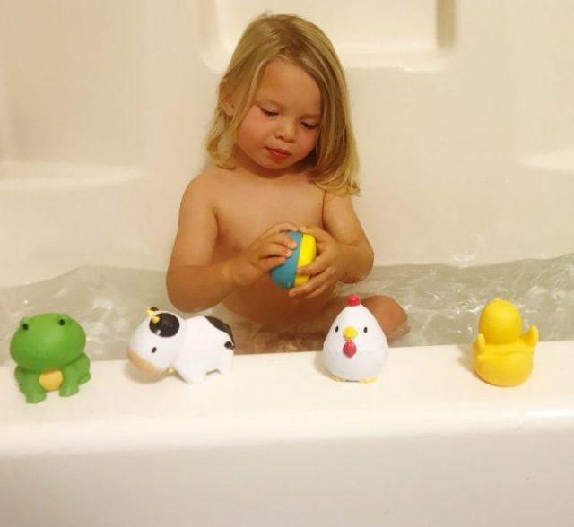 Simplifying Our Bathtime Routine