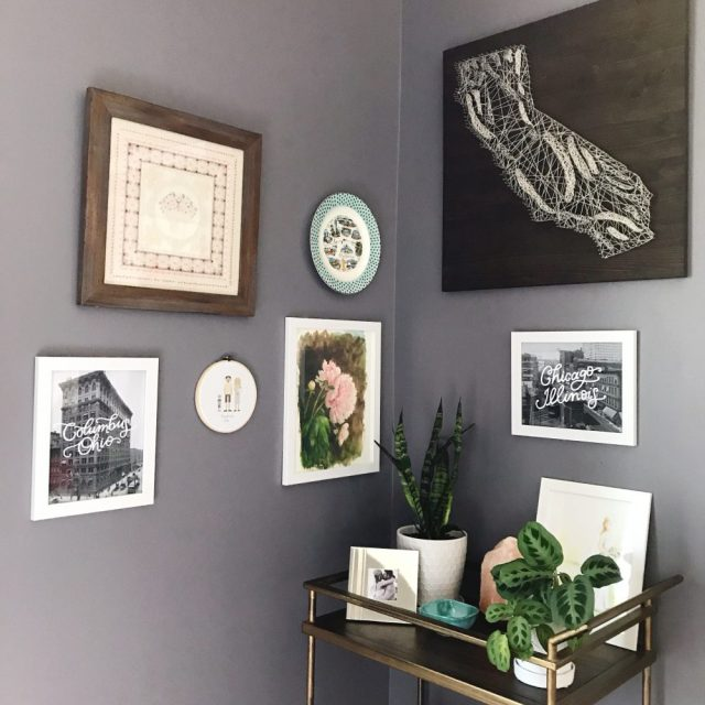 Tips for decorating your walls and my cardinal rule when deciding what to display in your home | Oh Lovely Day
