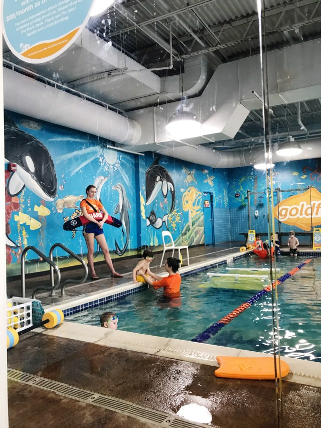 Why it was important for us to continue our swim lessons through the winter at Goldfish Swim School
