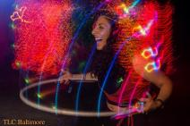 Hula hooping at Freeform Arts and Music Festival. Photo taken by the amazing, TLC Baltimore