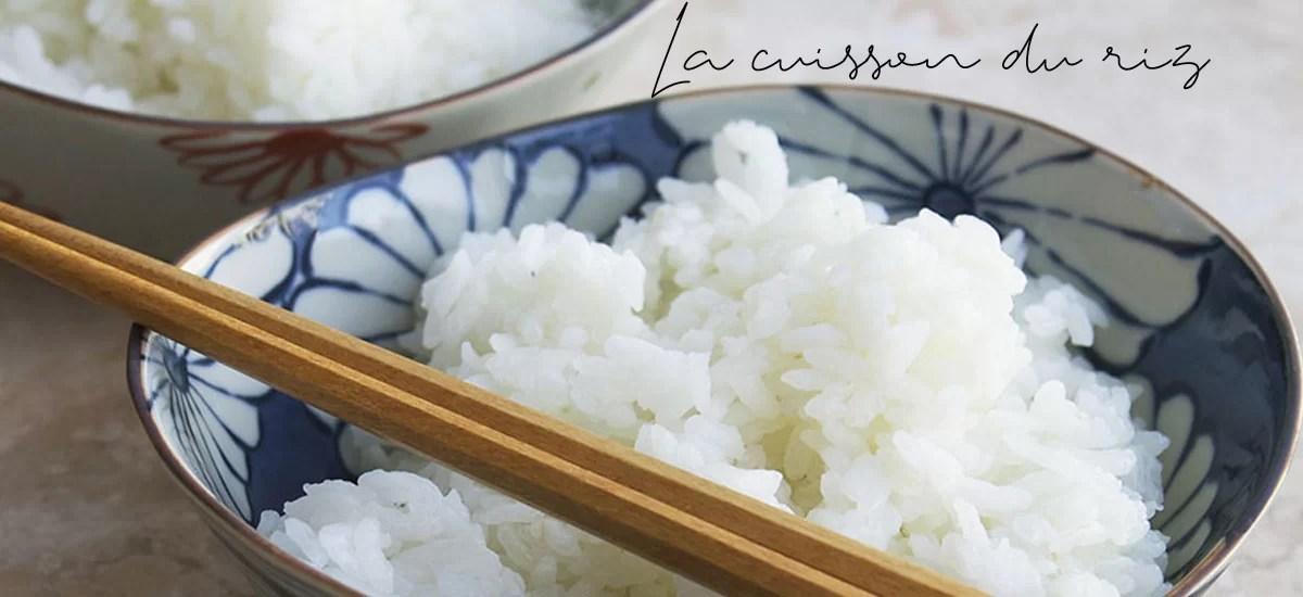 La cuisson du riz rond (Japonica)