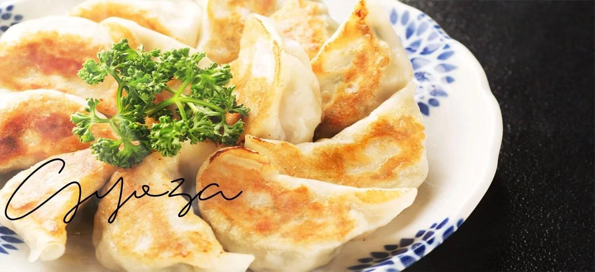 Les gyoza, raviolis japonais traditionnels