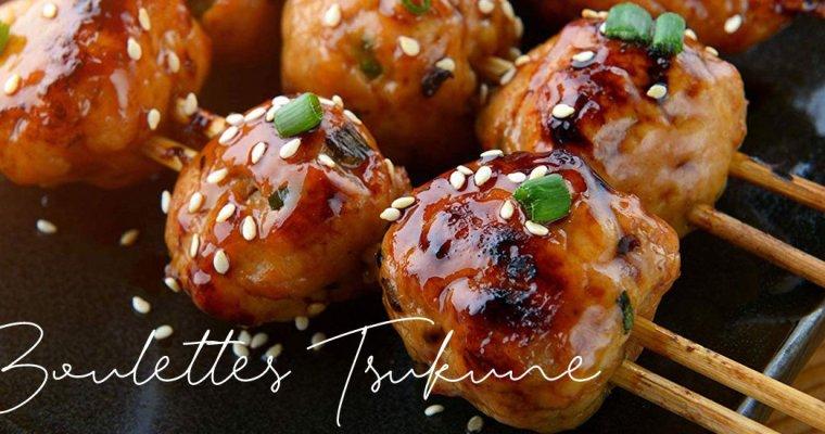 Tsukune, les boulettes de poulet à la sauce Yakitori