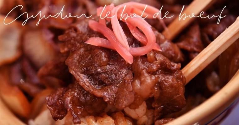 Gyudon, le « bol de bœuf »