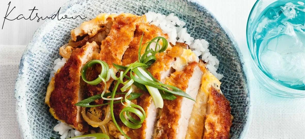 Katsudon – riz, omelette, tonkatsu