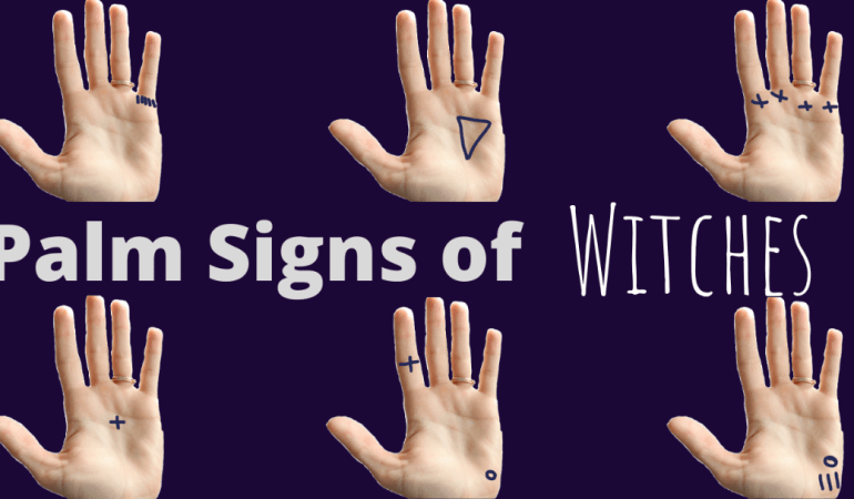Palm Signs of Witches