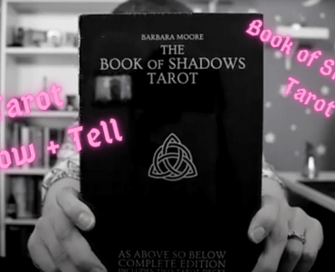 book of shadows tarot deck