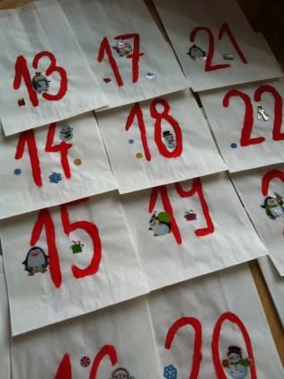 Juniorův kalendář - tučńáci a sněhuláci