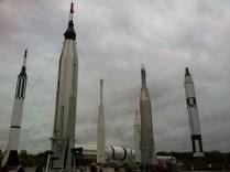 První rakety