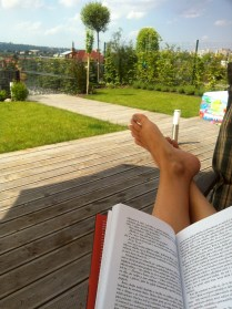 Relax na terase, to miluju!