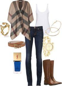 Přesně pro mě - holiny, úzké džíny, bílé triko, šperky, výrazné nehty a nějaký výrazný svetr...