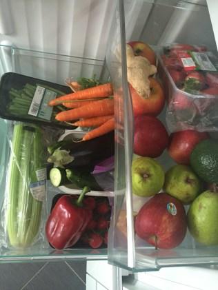 Skladování ovoce a zeleniny v lednici