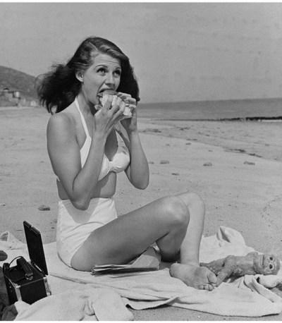 Marilyn Monroe à la plage