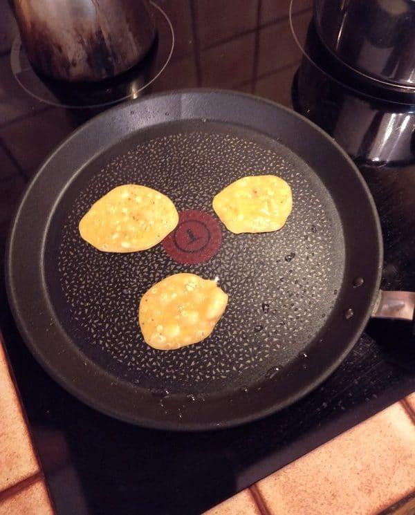 Pancakes sans sucre ni farine