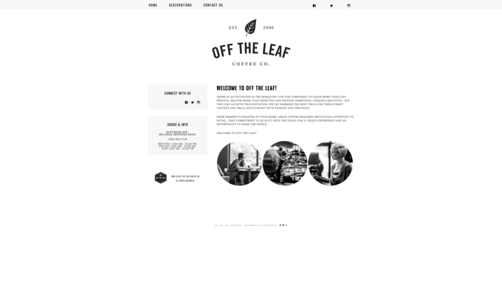 Off The Leaf Coffee Co.
