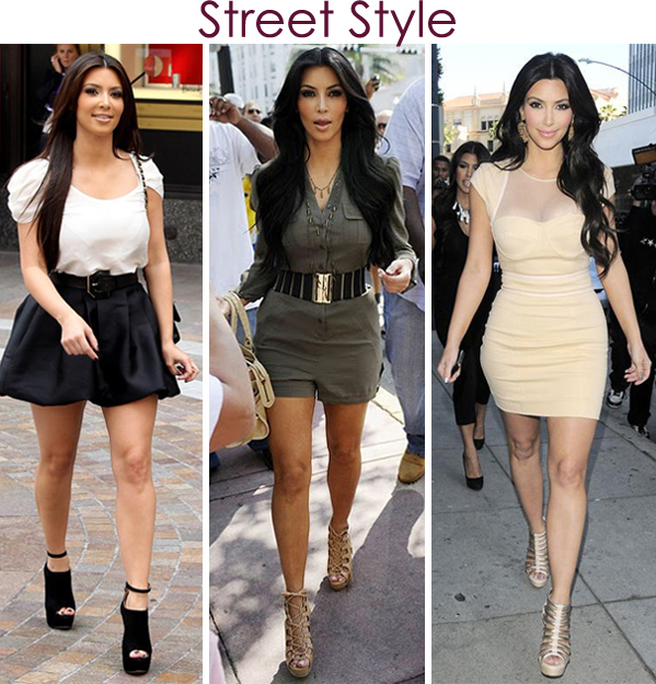 Kim Kardashian Street style looks 2011.