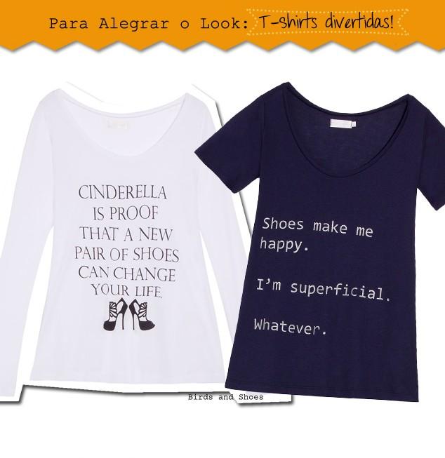 Camiseta T-shirt Look