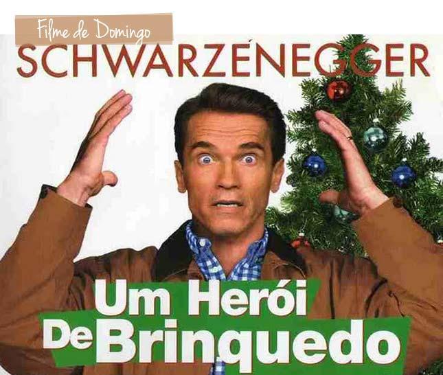 Filme de domingo, um Herói de Brinquedo. Dica de filme de Natal.