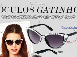 Óculos Gatinho - Onde Comprar - Oh My Closet! 1f4ee07733
