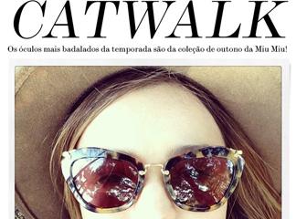 Oculos de Sol Catwalk Miu Miu