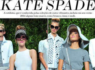 nyfw desfiles kate spade moda fashion week blog de moda oh my closet new york fashion week coleção verão 2014