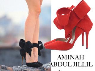 bow pump sapato aimee song of style aminah abdul iillil sapato laco vermelho blog de moda oh my closet