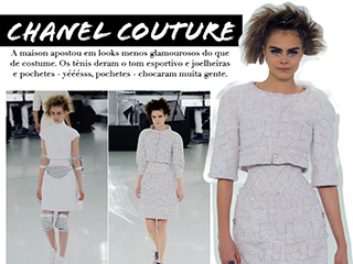 chanel couture 2014 blog de moda oh my close desfile paris alta costura chanel tennis tweed esporte sportswear