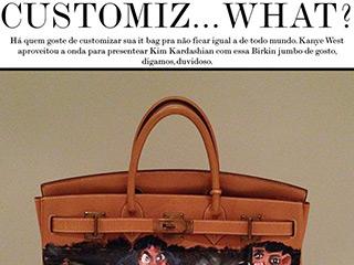 it bag customized blog de moda go my closet kim kardashian hermes birkin kanye west look kim casaco celine manolo blank alai a