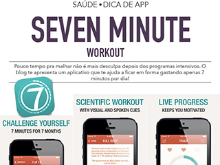 7 minute workout dica de app aplicativo iphone blog de moda oh my closet fitness exercicio saude alimentacao