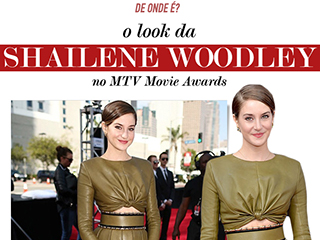 vestido da shailene woodley mtv movie awards blog de moda oh my closet balmain look conjunto shailene