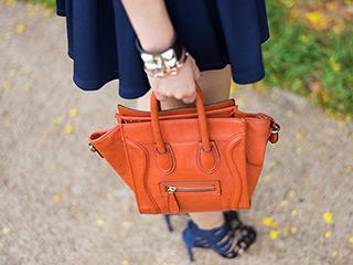 saia rodada look do dia blog de moda oh my closet monica araujo forever 21 cropped sandalia gladiadora mini boston celine azul marinho e preto