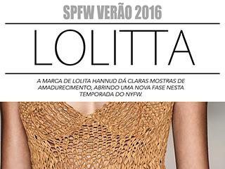 Lolitta SPFW Verao 2016