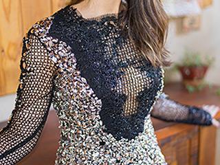 A blogueira Mônica Araújo escolheu looks incríveis na loja Dominikkka em Catanduva.