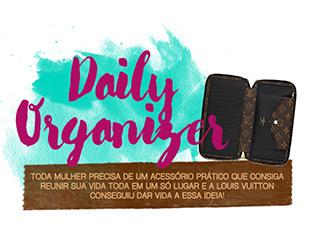 O organizador diário da Louis Vuitton é super prático, vem ver no blog Oh My Closet!