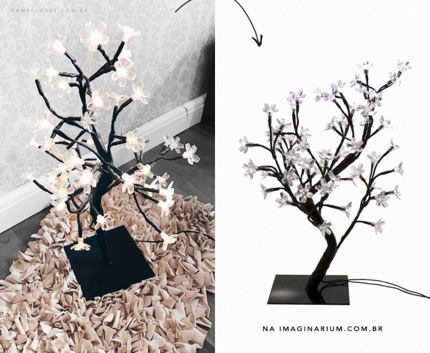 Árvore de luz Imaginarium décor quarto dicas Oh My Closet
